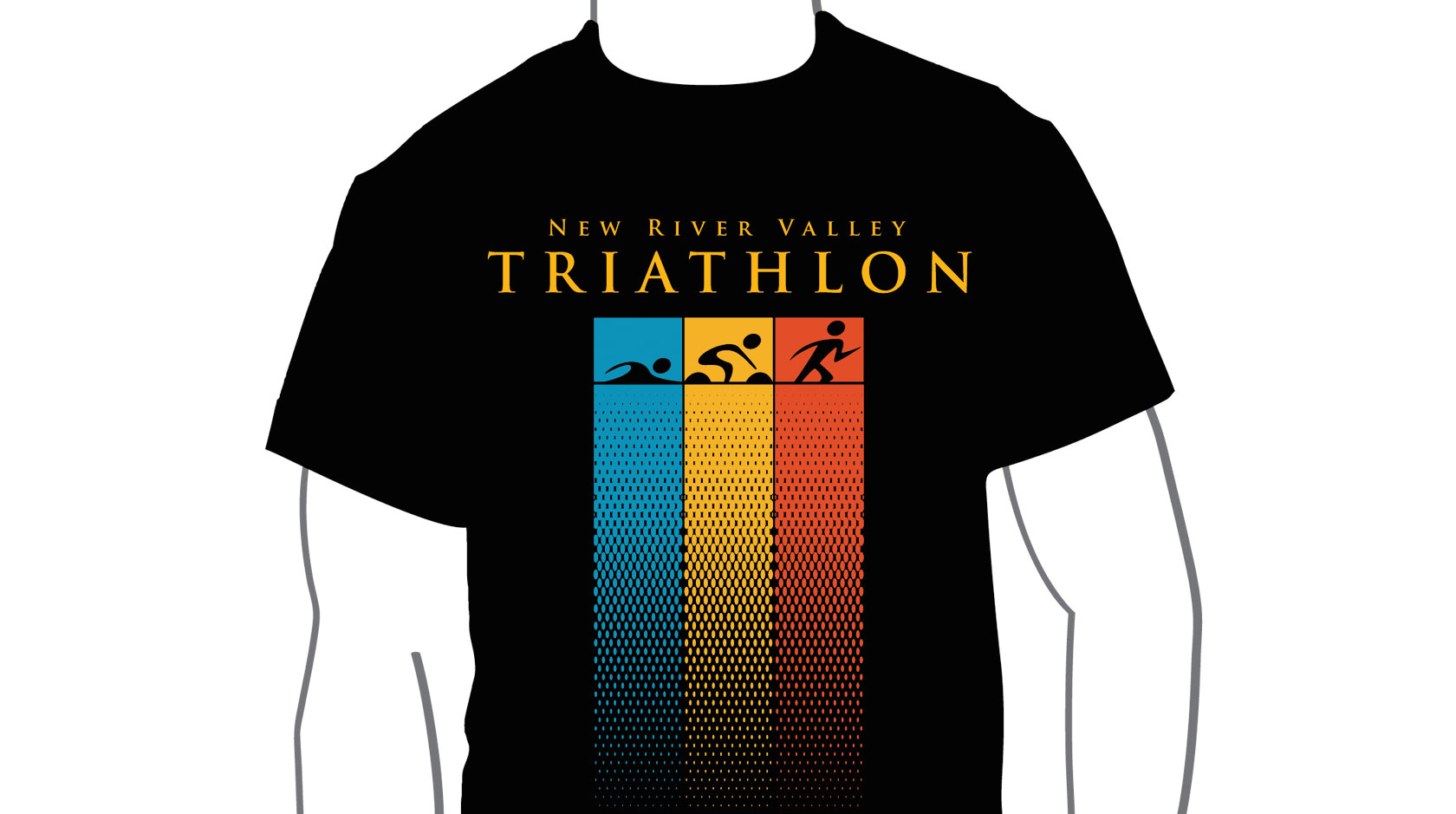 Triathlon Logo Design Nrv triathlon